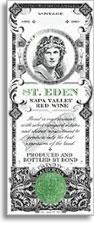 2001 Bond St Eden Red Wine Napa Valley