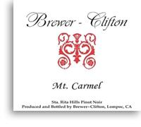 2008 Brewer-Clifton Pinot Noir Mount Carmel Vineyard Sta. Rita Hills