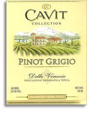 Vv Cavit Pinot Grigio