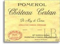 1995 Chateau Certan De May Pomerol