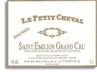 2009 Chateau Cheval Blanc Le Petit Cheval Saint-Emilion