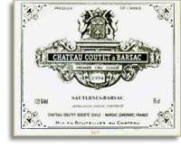1998 Chateau Coutet Sauternes (Barsac) (Pre-Arrival)