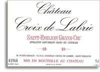 2003 Chateau Croix de Labrie Saint-Emilion