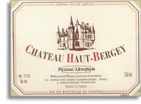 2009 Chateau Haut Bergey Pessac Leognan