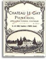 2013 Chateau Le Gay Pomerol