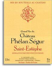 2008 Chateau Phelan Segur Saint-Estephe