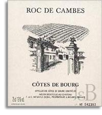 2012 Chateau Roc De Cambes Cotes De Bourg