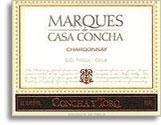 2009 Concha Y Toro Chardonnay Marques De Casa Concha Maipo Valley