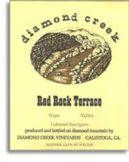 1998 Diamond Creek Vineyards Cabernet Sauvignon Red Rock Terrace Diamond Mountain