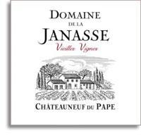 2011 Domaine de la Janasse Chateauneuf-du-Pape Vieilles Vignes