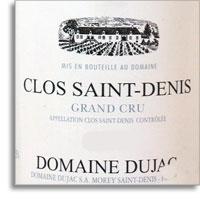 2012 Domaine Dujac Clos Saint-Denis