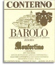 2010 Giacomo Conterno Barolo Monfortino