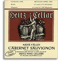 2001 Heitz Wine Cellars Cabernet Sauvignon Martha's Vineyard Napa Valley