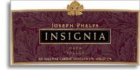 2007 Joseph Phelps Insignia Proprietary Red Wine Napa Valley
