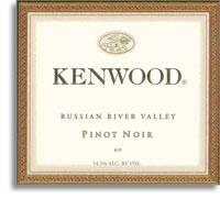 2006 Kenwood Vineyards Pinot Noir Russian River Valley