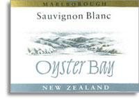 2013 Oyster Bay Wines Sauvignon Blanc Marlborough