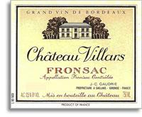 2010 Chateau Villars Fronsac
