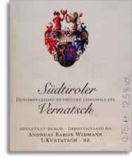 2012 Baron Widmann Sudtirol Vernatsch