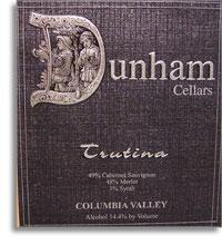 2009 Dunham Cellars Trutina Red Blend Columbia Valley