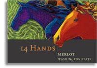 2009 14 Hands Merlot Washington