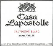 2008 Casa Lapostolle Sauvignon Blanc Rapel Valley