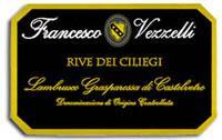 2011 Francesco Vezzelli Lambrusco Grasparossa Di Castelvetro Rive Dei Ciliegi