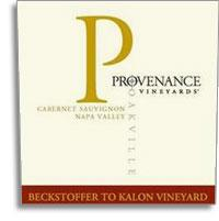2007 Provenance Vineyards Cabernet Sauvignon Beckstoffer To-Kalon Vineyard Oakville Napa Valley