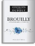 2009 Georges Duboeuf Brouilly Flower Label
