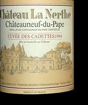 2008 Chateau La Nerthe Chateauneuf-du-Pape Cuvee des Cadettes