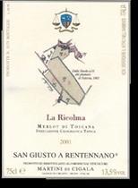 2003 San Giusto A Rentennano Vigneto La Ricolma Merlot Toscana Rosso