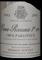 1993 Domaine Emmanuel Rouget Vosne-Romanee Cros Parantoux