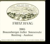 2006 Fritz Haag Brauneberger Juffer-Sonnenuhr Riesling Auslese Gold Capsule