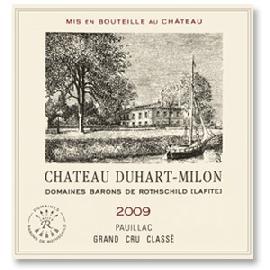 2009 Chateau Duhart-Milon Pauillac