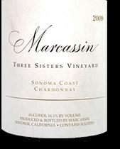 2003 Marcassin Chardonnay Three Sisters Vineyard Sonoma Coast