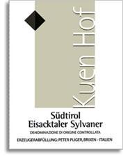 2009 Peter Pliger/Kuenhof Sylvaner Eisacktaler Sudtirol