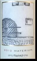 2014 Maybach Family Vineyards Cabernet Sauvignon Materium Weitz Vineyard Oakville