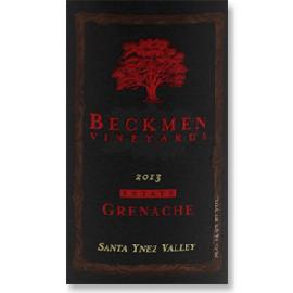 2013 Beckmen Vineyards Grenache Estate Santa Ynez Valley