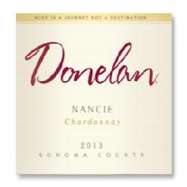 "2013 Donelan Chardonnay ""Nancie"" Sonoma County"