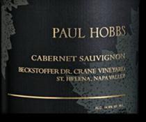 2014 Paul Hobbs Winery Cabernet Sauvignon Beckstoffer Dr. Crane Vineyard Napa Valley