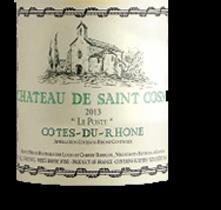 2010 St. Cosme Chateau de Saint Cosme Le Poste Cotes du Rhone Blanc