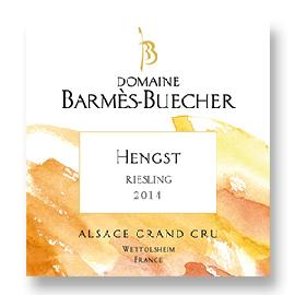 2014 Domaine Barmes-Buecher Riesling Hengst Grand Cru