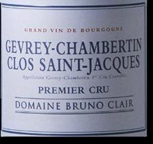 2012 Domaine Bruno Clair Gevrey-Chambertin Clos-Saint-Jacques
