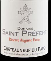 2003 Domaine Saint Prefert Chateauneuf-du-Pape Reserve Auguste Favier