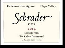 2008 Schrader Cellars Cabernet Sauvignon Ccs Beckstoffer To Kalon Vineyard Napa Valley