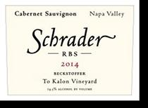 2001 Schrader Cellars Cabernet Sauvignon Rbs Beckstoffer To Kalon Vineyard Napa Valley