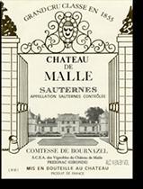 2001 Chateau De Malle Sauternes