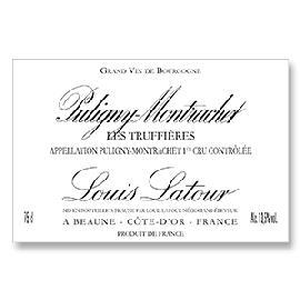 2012 Louis Latour Puligny-Montrachet Les Truffieres Premier Cru
