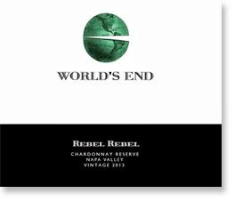 2013 World's End Rebel Rebel Chardonnay Reserve Napa Valley