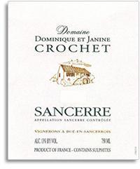 2011 Domaine Dominique Et Janine Crochet Sancerre