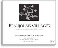 2010 Gilles Gelin Beaujolais Villages